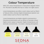 Sedna Explain Colour Temperature Kelvins