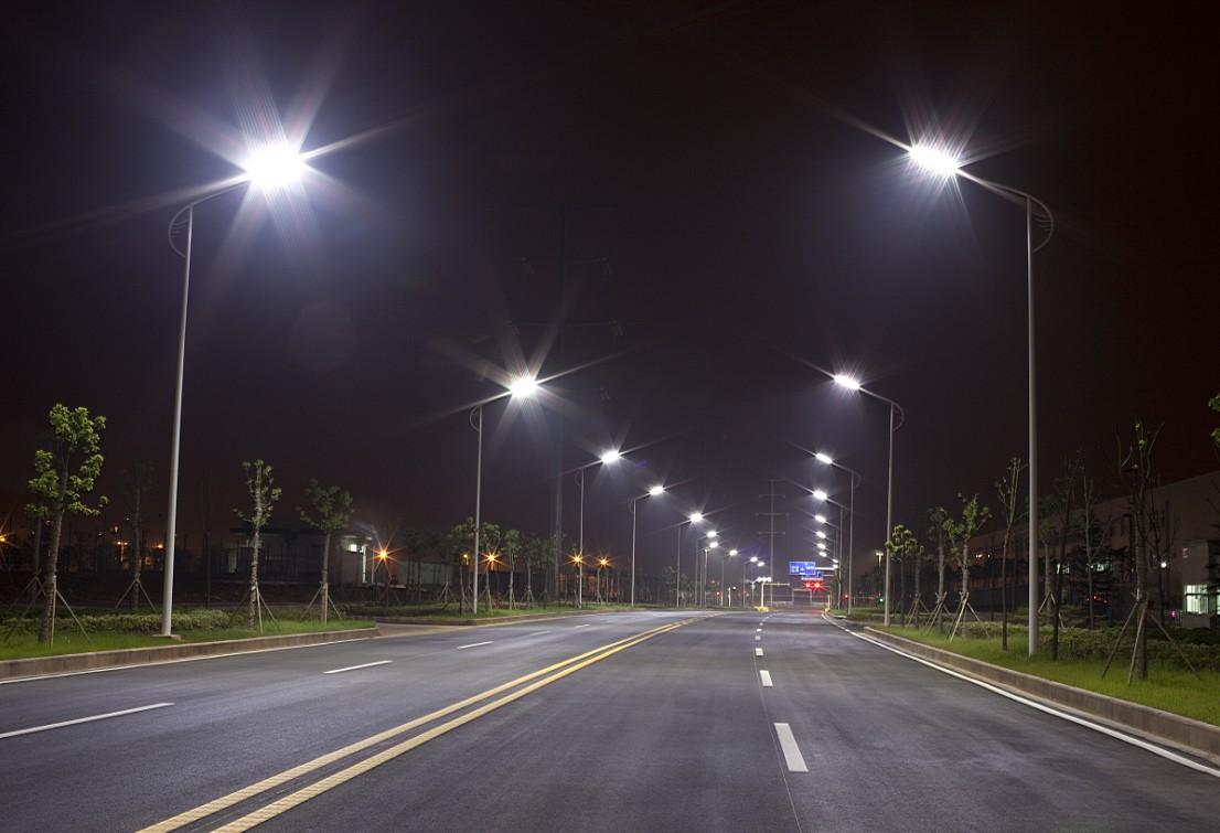 Who is embracing LED street lighting?