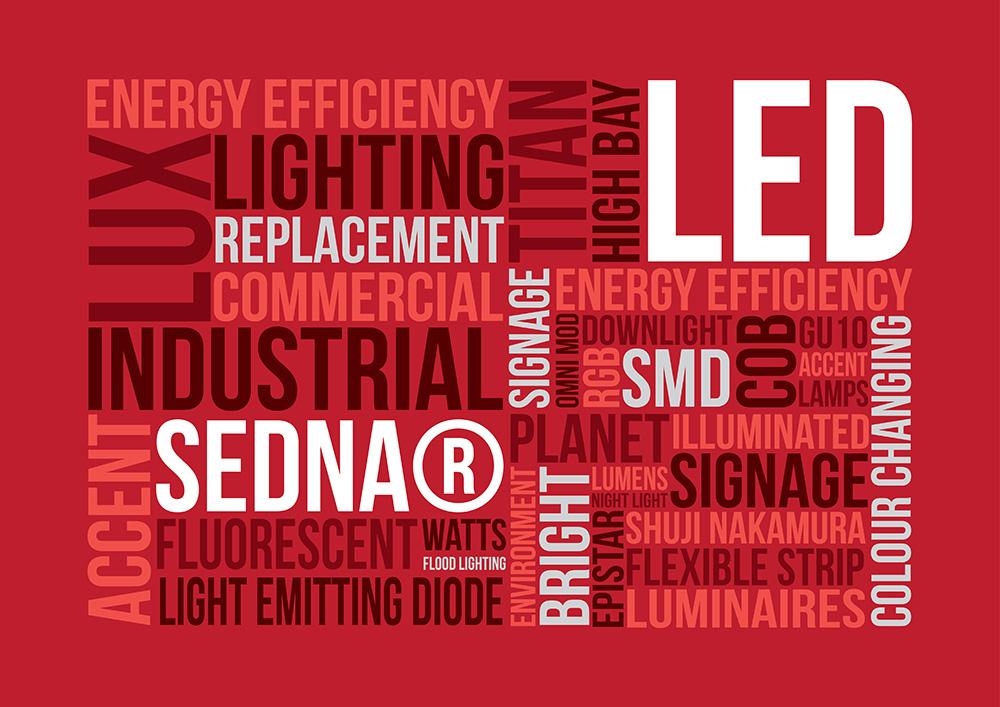 led word board sedna lighting
